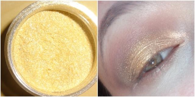 tutorial maquiagem dourada brilho delineador batom vermelho beauty stop blog bruna reis 5